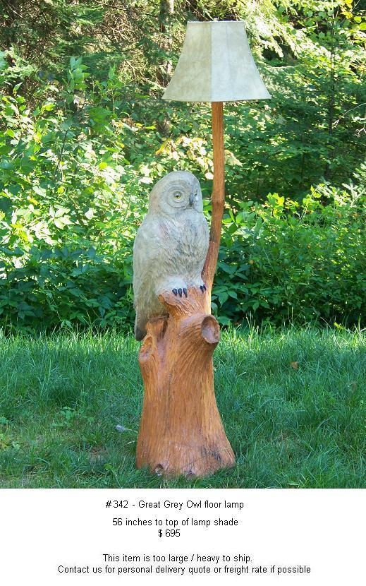 Chainsaw carvings original hand crafted art by wolf